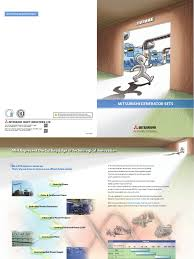 chp code 1125 mitsubishi generator sets brochure diesel engine energy technology