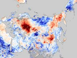 heatwave in russia image of the day