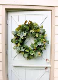 magnolia leaf wreath magnolia wreath wreath farmhouse decor front door