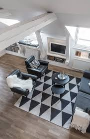 serenity and elegance feel right at home in a monochromatic attic