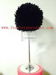 feather ball centerpieces wholesale flower stands wedding flower