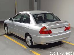 2000 mitsubishi lancer silver for sale stock no 46701