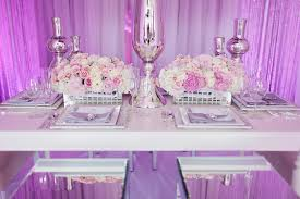 wedding designer blushed glamourous wedding decor inspiration