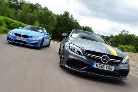 mercedes amg c 63 s coupe vs bmw m4 auto express