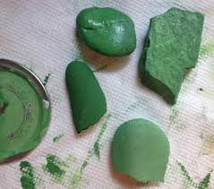 Different Shades Of Green Paint Mini Cactus Rock Garden 6 Steps With Pictures