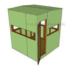 Box Blind Plans Best 25 Deer Blind Plans Ideas On Pinterest Deer Box Stands
