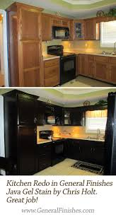 Black Glazed Kitchen Cabinets Best 25 Refinished Kitchen Cabinets Ideas On Pinterest Painting