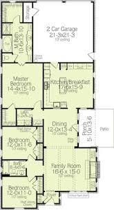 house plan 041 00078 narrow lot plan 1 800 square feet 3