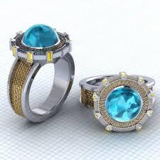 stargate wedding ring the great geeky rings of paul michael design neatorama