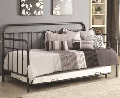 beautiful daybed with trundle metal frame daybeds pinterest