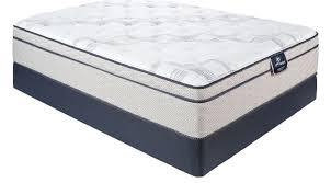 perfect sleeper echo springs queen mattress set euro pillowtop