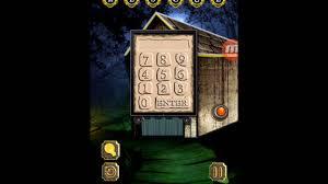 100 door escape scary home walkthroughs 100 door escape scary house level 14 youtube