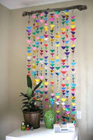 Art And Craft For Home Decoration Best 25 Paper Decorations Ideas On Pinterest Tissue Garland