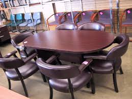 4 X 8 Conference Table Office Furniture Desks Chairs Files Conference Tables Hull