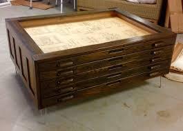 blueprint flat file cabinet repurposed vintage hamilton flat map or blueprint file cabinet add