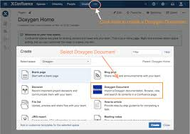 documentation product doxygen in confluence