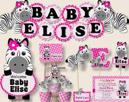 zebra baby shower zebra print baby shower ideas pink baby girl zebra baby shower