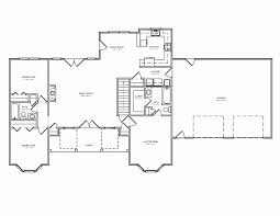 front to back split house floor plan without back style house home front images big side