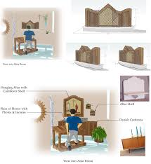 emejing home altar design ideas pictures decoration design ideas