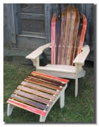 Ski Service Bench Ski Chairs And Home Furnishings Green Mountain Ski Furniture