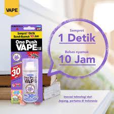 Obat Nyamuk Vape one push vape obat nyamuk sekali vape fumakilla indonesia