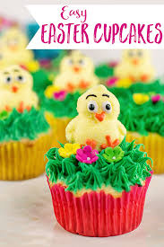 Easy Easter Cake Decorations by Easy Easter Cupcakes Scattered Thoughts Of A Crafty Mom By