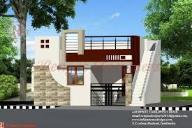 single floor house front design indian houses portico model
