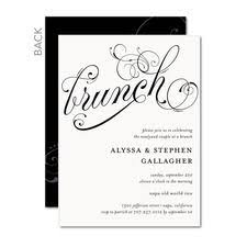 wording for brunch invitation they said i do yellow grey post wedding brunch invitation