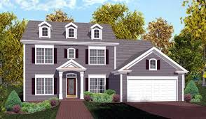 colonial house house plan 92374 at familyhomeplans com