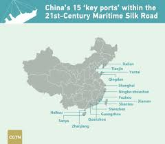 Xiamen China Map by Three Years On Port Construction In Full Swing Along Belt And