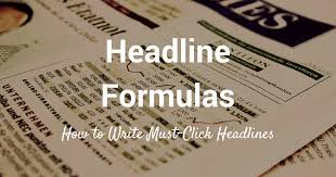 Resume Headers And Headlines How To Write Good Resume Headlines by 30 Ultimate Headline Formulas For Tweets Posts And Emails