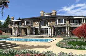 luxury colonial house plans luxury plan 9 820 square 4 bedrooms 7 5 bathrooms 341 00298