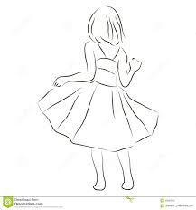 in a dress royalty free stock image image 30663046