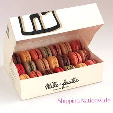 macarons bakery box of 21 macarons mille feuille bakery
