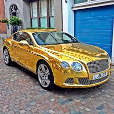 gold cars bentley gt chrome gold wrap wrapping cars car wrap u0026 vehicle