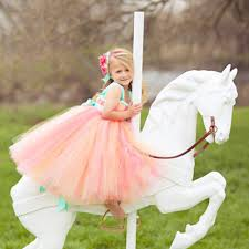 aliexpress com buy pageant dresses for little girls corals peach