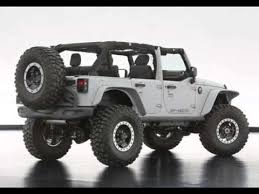 jeep rubicon 4x4 2014 jeep wrangler mopar recon concept for 47th annual moab easter