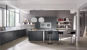 cuisine toute une cuisine toute grise