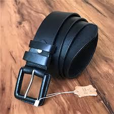 belt buckle allergy anti allergic pin belt buckle men belt genuine leather wide belts