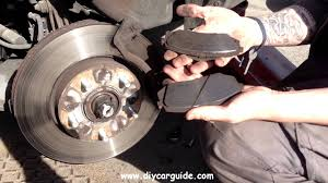 kia carens rondo front brake pads replacement youtube