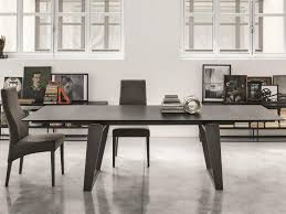 ceramic top dining room tables modern zeus 180 extending dining table with metal legs and a ceramic
