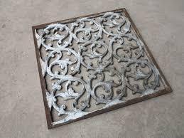 Reggio Floor Grilles by Cast Iron Floor Grates Carpet Vidalondon