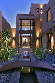 Modern Home Design Las Vegas Contemporary Home Development In Las Vegas Stair Rails