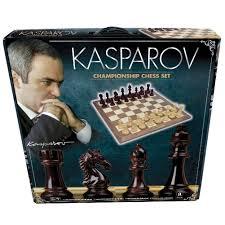 Chess Board Amazon Kasparov Championship Chess Set Game 4897049300316 Calendars Com