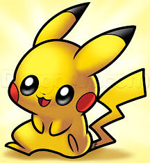 pikachu clipart baby dragon pencil and in color pikachu clipart