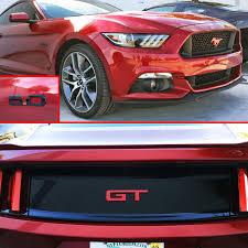 Black Mustang Grille Emblem 15 17 Mustang Gt Rear Emblem Color Coded Ford Official Licensed