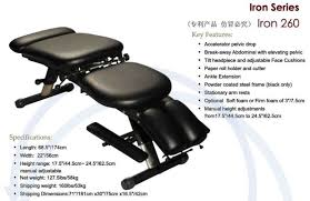 portable chiropractic drop table mt iron 260 strong foam chiropractic table bed view chiropractic