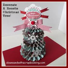 make and decorate yoyo rosette tree to my