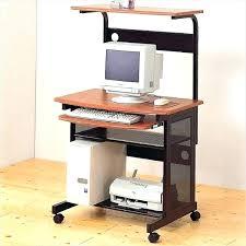 Slim Computer Desk Narrow Computer Desk Hutch Small Tandemdesigns Co