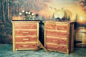 Cedar Bedroom Furniture Point Cedar 3 4 5 6 Drawer Dressers Rustic